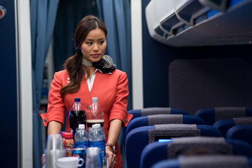 Photo Credit: Jamie Chung in the upcoming film, 7500. Courtesy CBS