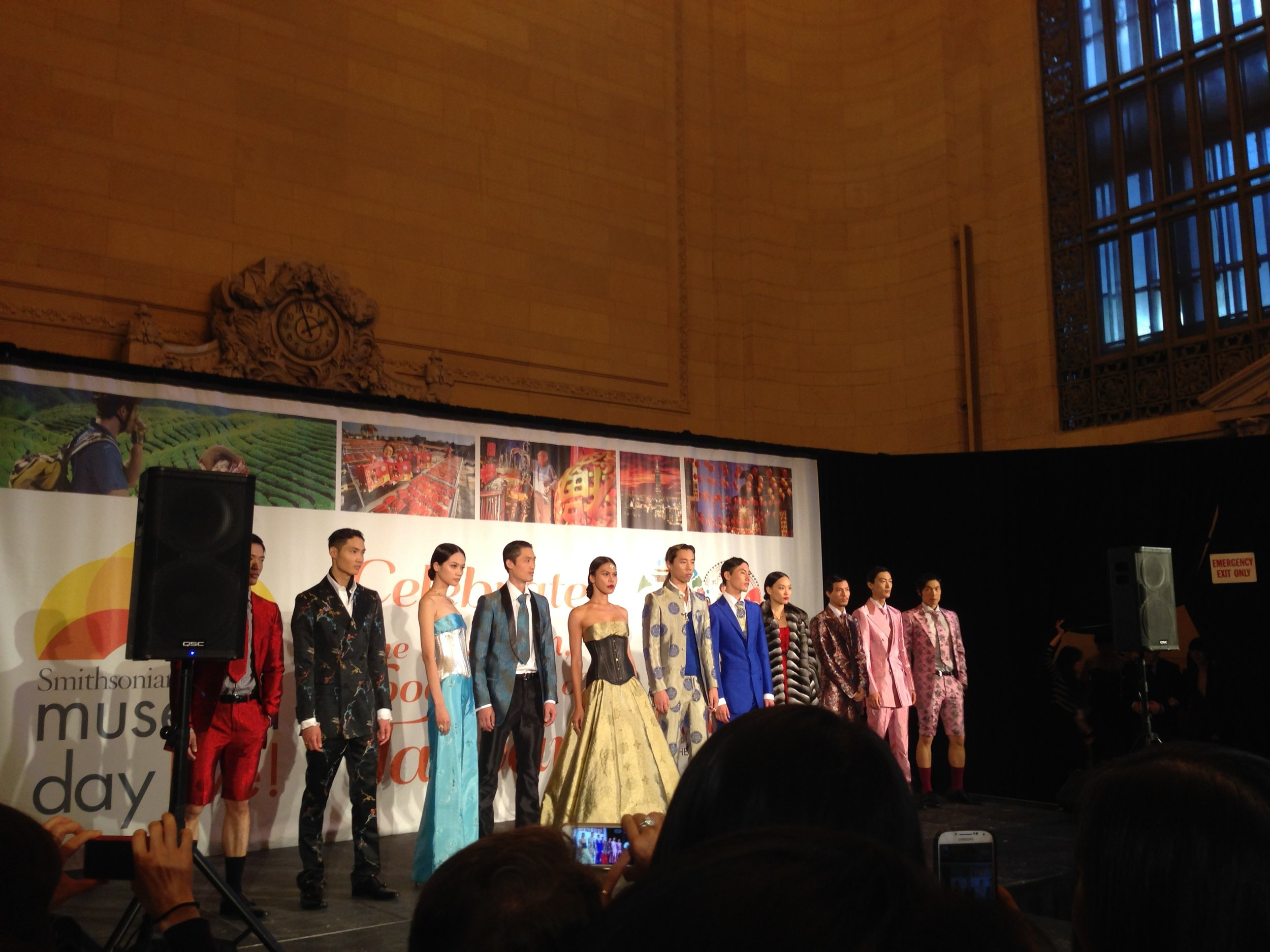 AsianInNY's 9th Fashion Show PRAXES (the fashion incubation program from NY-based designer Wenlan Chia).