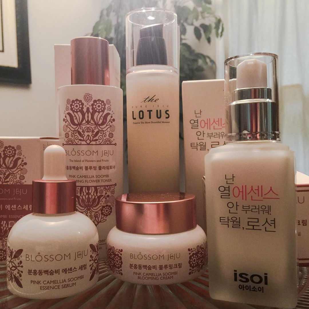 Kerry Thompson's skincare routine