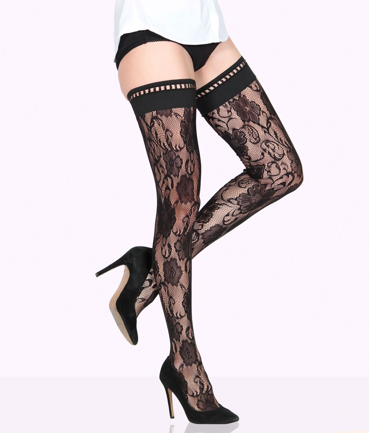 OTTAVIA lace stockings