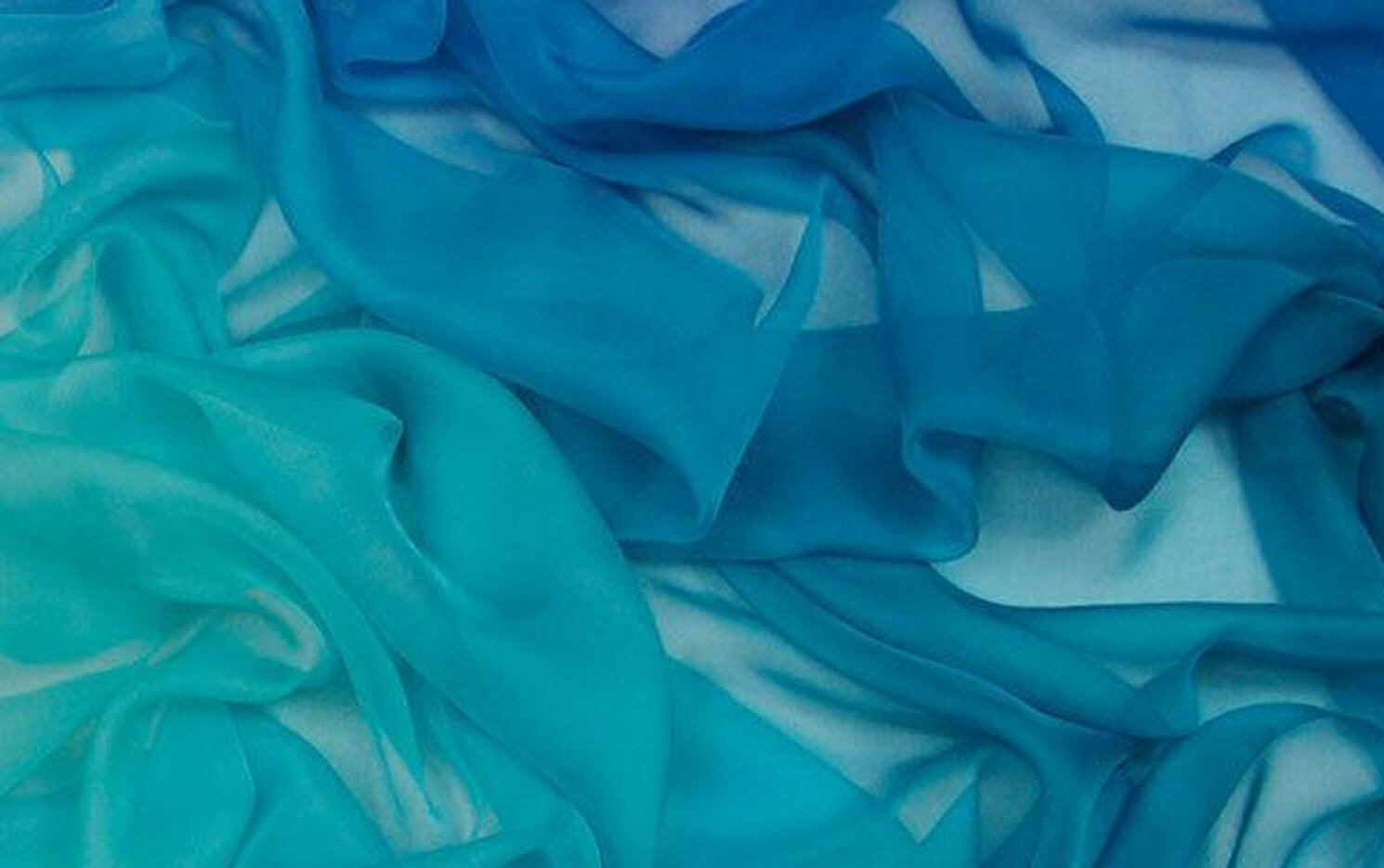 Tissura's ombre silk chiffon